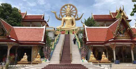 le Big Buddha à Koh Samui