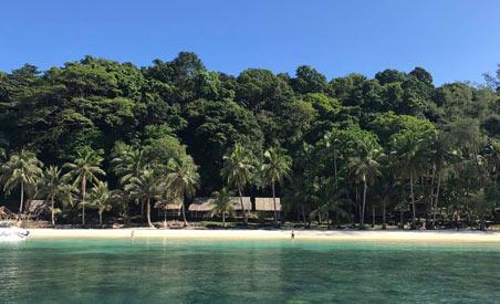 l'ile de Koh Wai