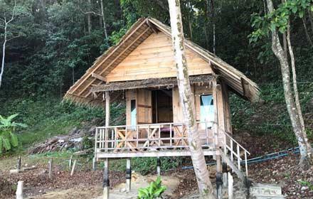 Koh Wai maison de bois