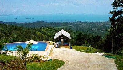 piscine parc Koh Samui