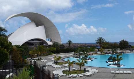 L'auditorium de Tenerife santa cruz
