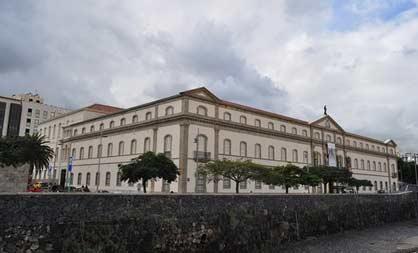 Le musée de l'homme et de la naturesanta cruz