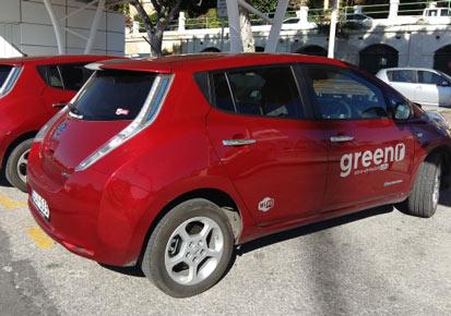 Greenr cabs taxi malte