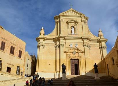 La citadelle de Victoria de Gozo