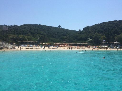 La plage Vrika