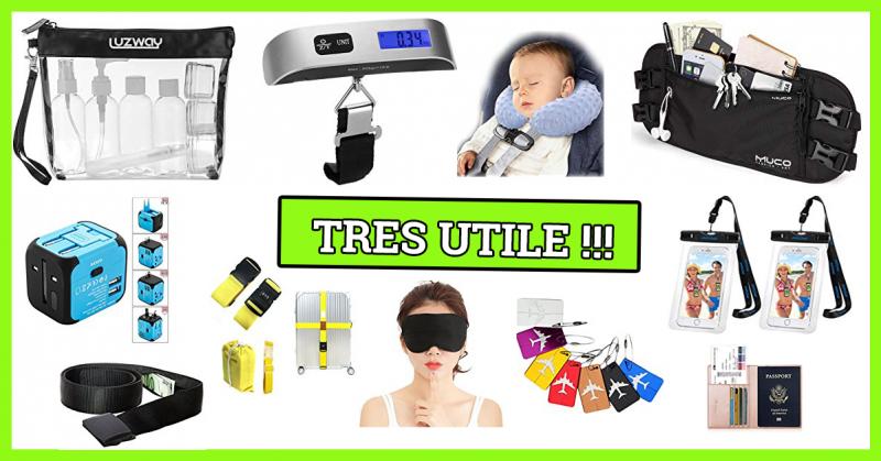 15 essentiels accessoires de voyage à apporter !
