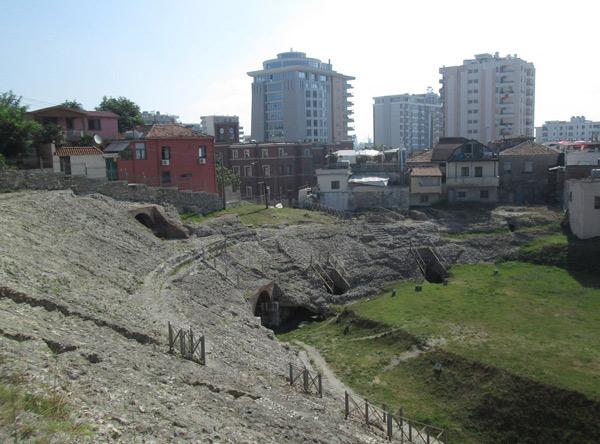 amphithéâtre durres