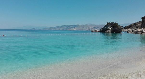 plage Mirror albanie