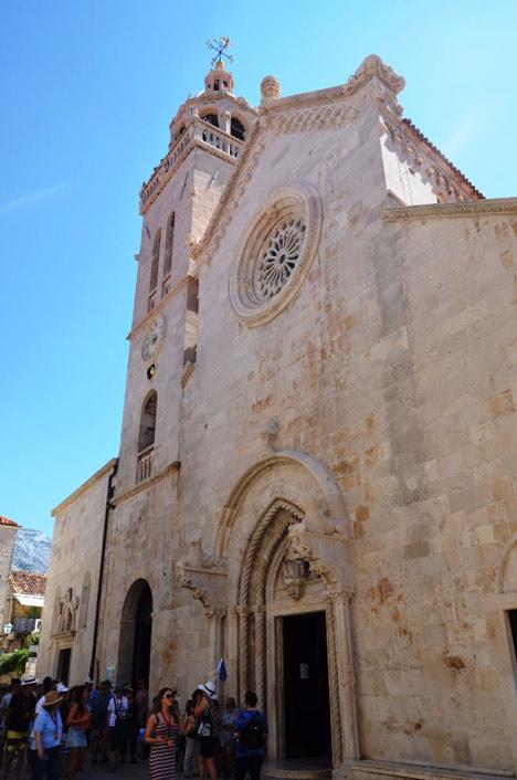 la Cathédrale Saint Marc Korcula