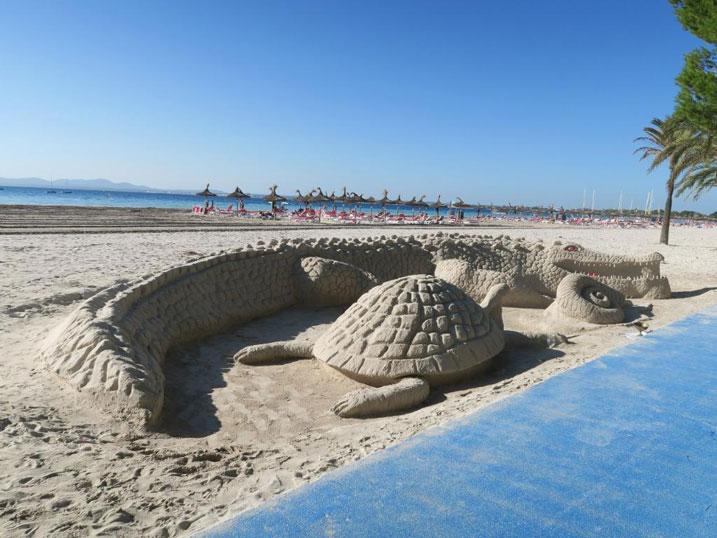 la Playa de alcudia