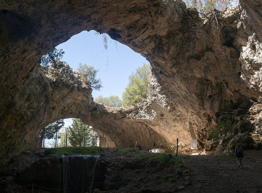 la grotte de Vela Spilja Korcula