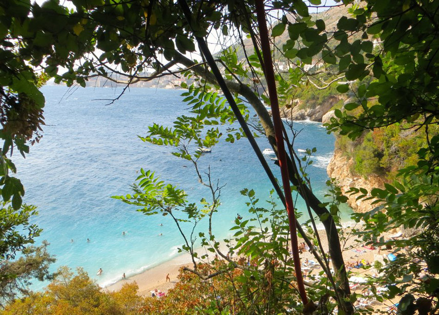 la plage Sveti Jakov