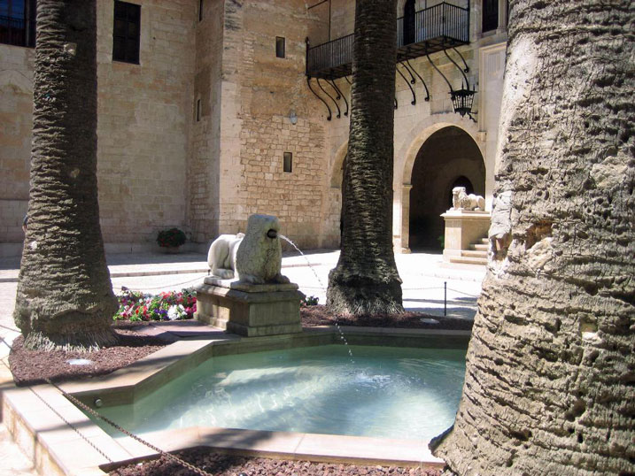 le palais royal de l'Almudaina