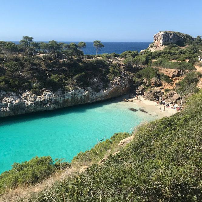 plage Calo des Moro