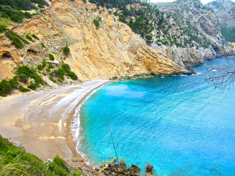 plage des Coll Baix